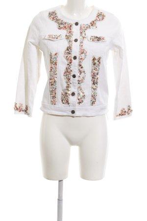 Antica Sartoria Veste en jean blanc élégant
