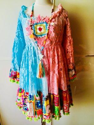 Antica Sartoria Kleid Boho Hipoie Ibiza Style