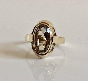Antik 333 Gold Ring Goldring 8k 8kt 8ct Rauchtopas Topas Edelstein Rauchquarz Goldquarz