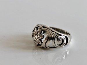 Antik 925 Jugendstil Silber Ring Silberring