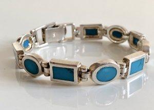 Antik 925 Silber Armband Armreif Silberarmband Türkis