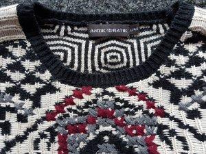 Antik Batik Gebreide trui veelkleurig Gemengd weefsel