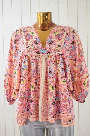 Antik Batik Blusa kimono multicolore Viscosa