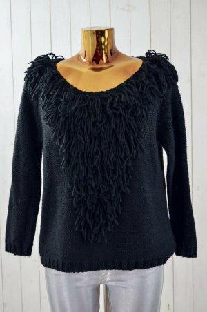 Antik Batik Coarse Knitted Sweater black