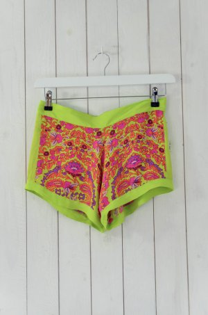 Antik Batik Pantalone corto multicolore Viscosa