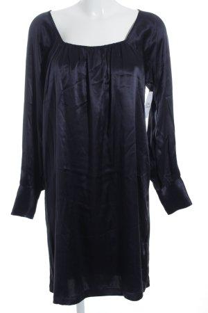 Antik Batik Langarmkleid dunkelblau Elegant