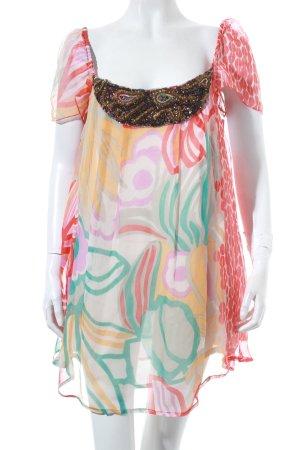 Antik Batik Tunikabluse florales Muster extravaganter Stil
