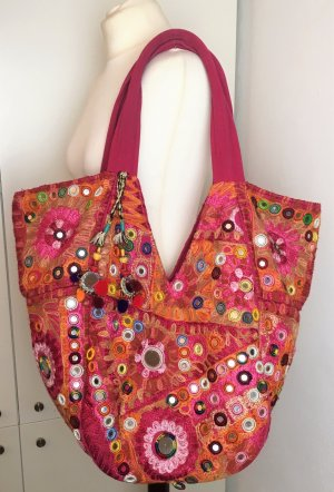 Antik Batik Shopper multicolored mixture fibre