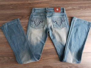 Antik Denim Low Rise Jeans blue
