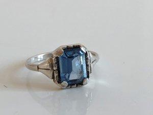 Antik Jugendstil 800 Silber Ring Silberring
