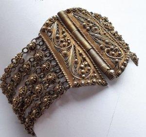 ❤️ Antik Jugendstil Armband Silberarmband Traumstück Handarbeit Silber