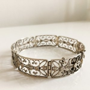 Antik Jugendstil Art Deco Silber Armband silberarmband 835 silber