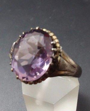 Antik Jugendstil Ring 800er Silber Traum Amethyst Edelstein echtsilber 800