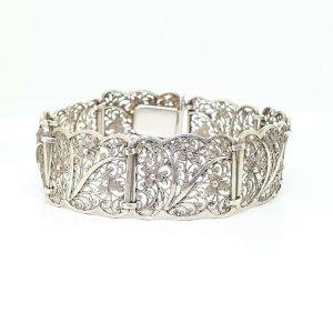 Antik Jugendstil Silber Armband 835 filigran art nouveau silver bracelet handmade.