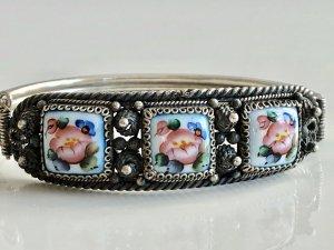 Antik Jugendstil Silber Armband Armreif