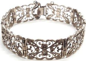 Vintage Zilveren armband zilver Zilver