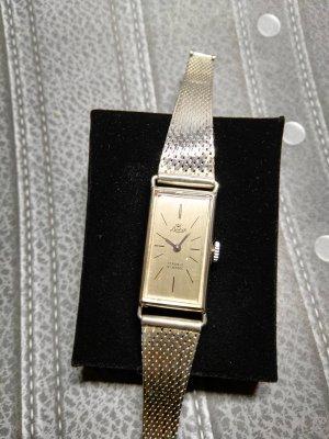 Antike Armbanduhr 825er Silber, Aufziehmechanismus, Intakt!