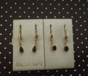 Antike Gold Ohrringe (2 Stück)
