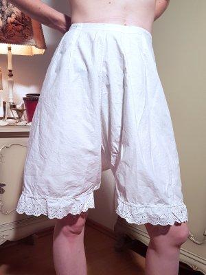 Vintage Pantalone pigiama bianco Cotone