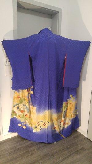 Vintage Kimono multicolor Seda