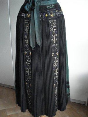Folkloristische rok bos Groen Katoen