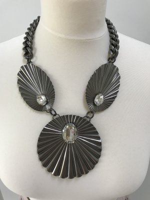 Anton Heunis Collar color plata-gris