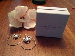 Anton Heunis Earring sand brown