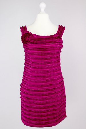 Antonello Serio Evening Dress magenta-violet