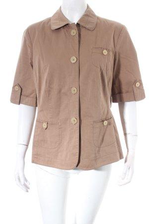 antonette Camicetta a blusa marrone chiaro stile safari