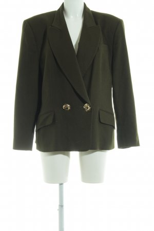 Antonette - Franz Haushofer Long-Blazer dunkelgrün Military-Look