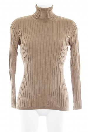 Antonette - Franz Haushofer Turtleneck Sweater light brown casual look