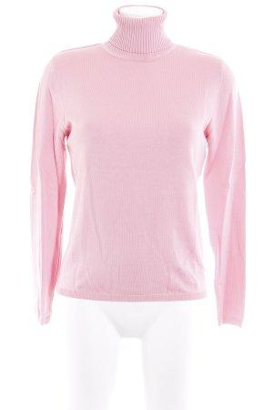 Antonette - Franz Haushofer Rollkragenpullover rosa Casual-Look