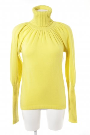 Antonia Zander Turtleneck Sweater yellow casual look