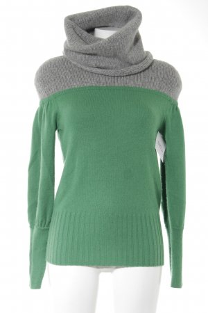 Antonia Zander Turtleneck Sweater light grey-green casual look