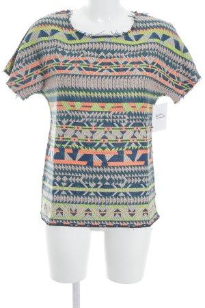 Antonia Zander T-Shirt Aztekenmuster Ethno-Look