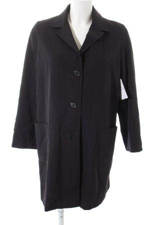 Antonio Fusco Lange blazer donkerblauw zakelijke stijl