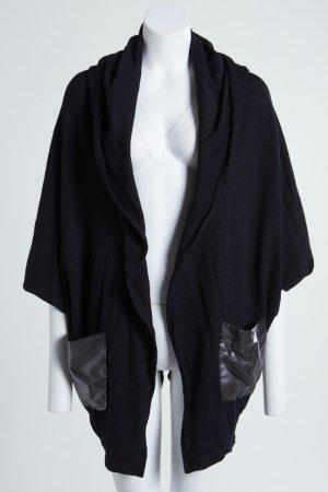 Giacca in maglia nero