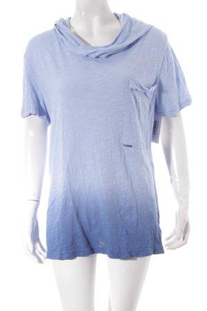 Antony Morato Kapuzenshirt himmelblau-stahlblau Farbverlauf Casual-Look