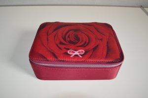 Anya hindmarch Pochette rouge brique fibre synthétique