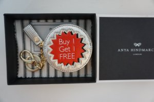 Anya Hindmarch Coin Purse 100% Original Key Chain/ Bag Charm