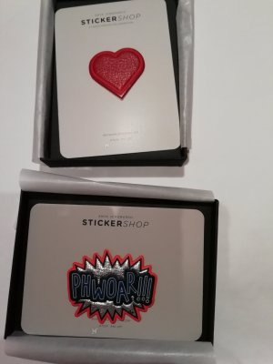 Anya Hindmarch Leder Sticker