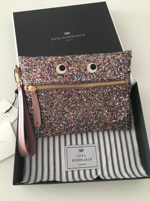 Anya hindmarch Clutch pink-gold-colored