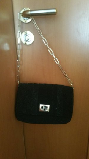 Anya hindmarch Borsetta mini nero-oro