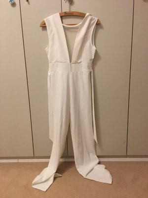 Pantalone da abito bianco