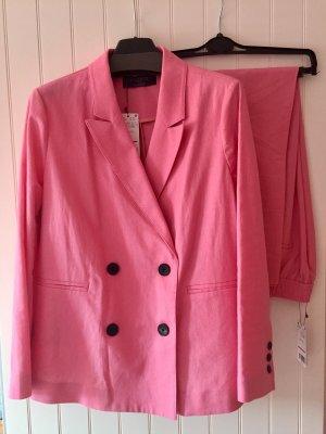 Violeta Tailleur rosa chiaro-rosa