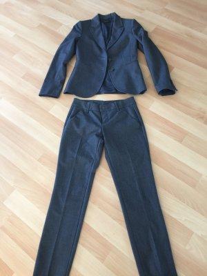Anzug Bürostyle, dunkelgrau von Benetton