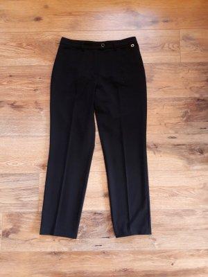 Anzug Bundfalten Hose schwarz Gr. 40