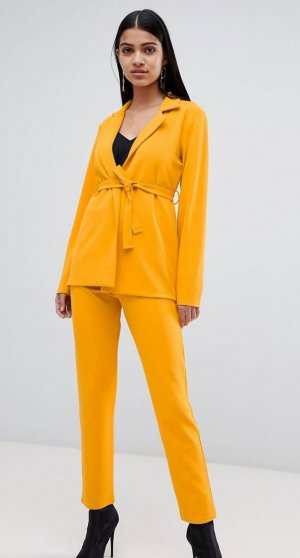 Asos Pantalone da abito arancione chiaro