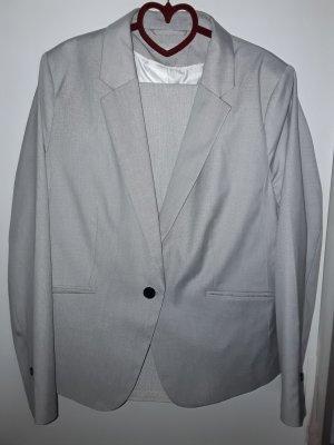 H&M Traje de pantalón gris claro
