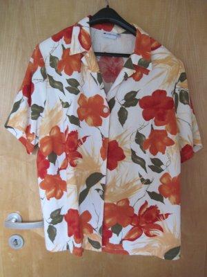 Anzug für Damen / Zweiteiler / Jacke /Bluse und Hose Gr.  48